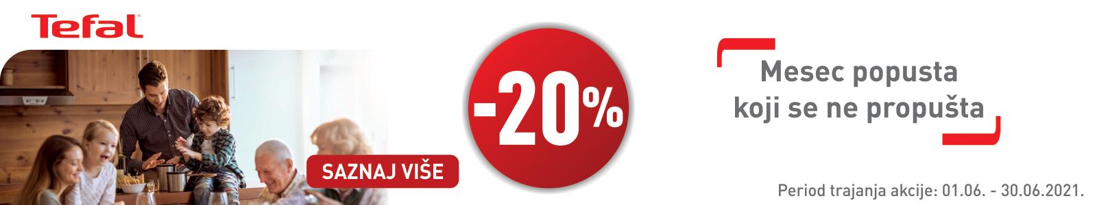 Tefal -20%