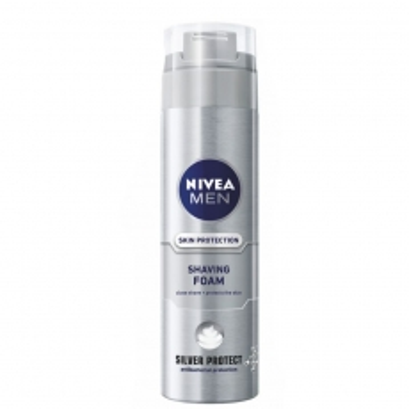 Pena za brijanje za muškarce Silver Protect 200ml - photo ambalaze