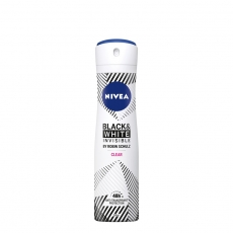 Dezodorans u spreju za žene Invisible Pure Black&White 150ml - photo ambalaze