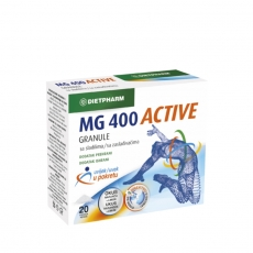 Magnezijum Active 400 20 kesica - photo ambalaze