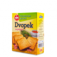 Dvopek od prosa 110g - photo ambalaze