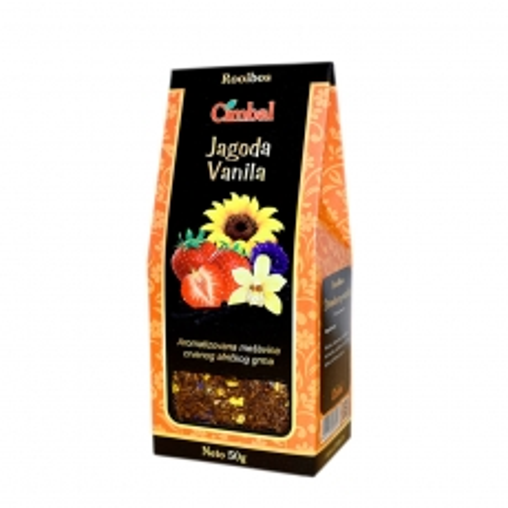 Čaj Rooibos jagoda - vanila 50g - photo ambalaze
