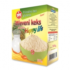 Mleveni keks Happy Life 300g - photo ambalaze