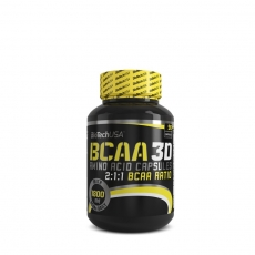 BCAA 3D 90 kapsula - photo ambalaze
