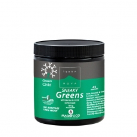 Sneaky Greens 180g - photo ambalaze
