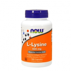 L-Lysine 500mg 100 kapsula - photo ambalaze