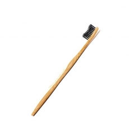 Četkica za zube od bambusovog drveta crna