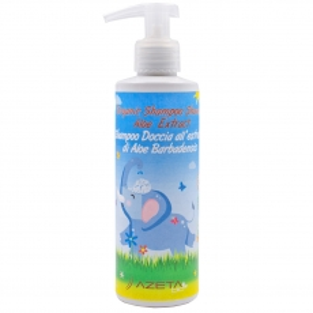 Organski bebi šampon za kosu i telo Aloe Vera 500ml - photo ambalaze