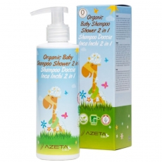 Organic Baby Shampoo Shower 2in1 500ml - photo ambalaze