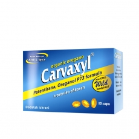 Carvaxyl origano 10 kapsula - photo ambalaze