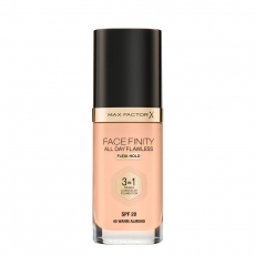 Facefinity 3in1 Foundation 45 Warm Almond - photo ambalaze
