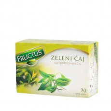 Classic zeleni čaj 20 kesica - photo ambalaze