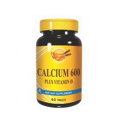 Kalcijum 600 + vitamin D 60 tableta - photo ambalaze
