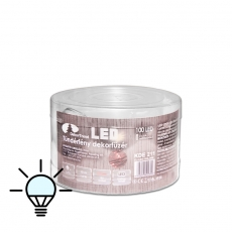 LED lampice Fairy Light za unutra 100 lampica hladno bela - photo ambalaze
