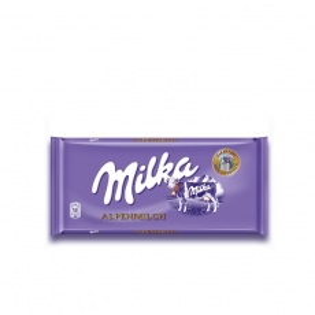 Čokolada Alpine Milk 80g - photo ambalaze