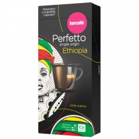 Perfetto single origin espresso Ethiopia 10 Nespresso kompatibilnih kapsula - photo ambalaze