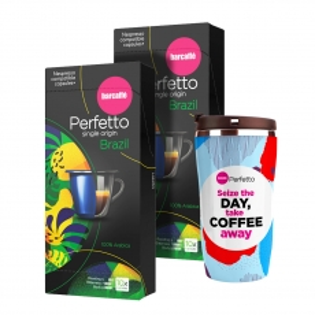 Perfetto Brazil 20 Nespresso 2-pack - photo ambalaze