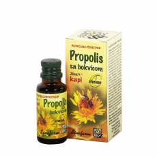 Propolis kapi sa bokvicom 20ml - photo ambalaze