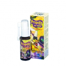 Propolis sprej za decu sa vitaminom C 25ml - photo ambalaze