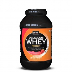 Delicious Whey Protein jagoda 2,2kg - photo ambalaze