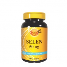 Selen 50mcg 100 tableta - photo ambalaze
