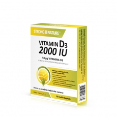 Vitamin D3 2000IU 30 kapsula - photo ambalaze
