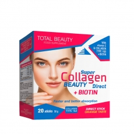 Super Collagen Beauty Direct 20 kesica - photo ambalaze