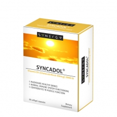Syncadol Vitamin D3 30 kapsula - photo ambalaze