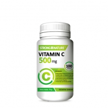 Vitamin C 500mg 100 tableta - photo ambalaze