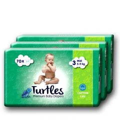 Premium Baby Diapers 3 3-pack - photo ambalaze