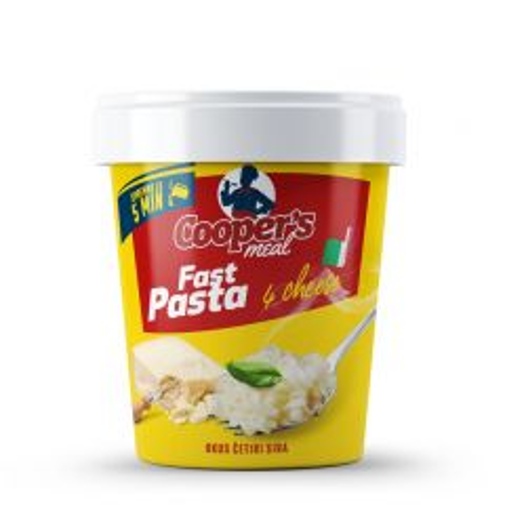 Fast pasta 4 Cheese - photo ambalaze