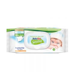 Sensitive Wipes Fragrance Free - photo ambalaze