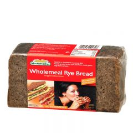 Wholemela Rye Bread - photo ambalaze