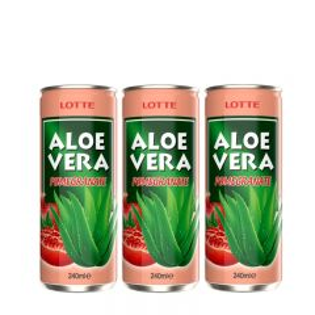Aloe Vera Pomegranate 3-pack - photo ambalaze