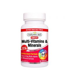 Multi-Vitamins & Minerals - photo ambalaze