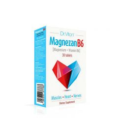 Magnezan B6 - photo ambalaze