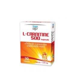 L-Carnitine 500 - photo ambalaze