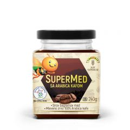 SuperMed sa Arabica kafom - photo ambalaze