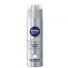 Pena za brijanje za muškarce Silver Protect 200ml - photo ambalaze
