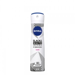 Dezodorans u spreju za žene Invisible Pure Black&White 150ml - photo ambalaze