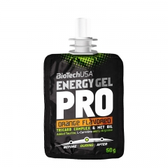 Energy Gel Pro narandža 60g - photo ambalaze