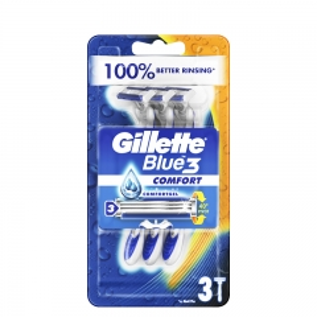 Brijači za muškarce Blue 3 Regular 3kom - photo ambalaze