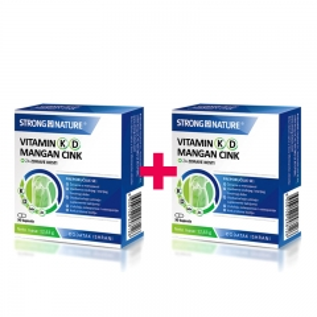 Vitamin K D Mangan Cink 2x30 kapsula - photo ambalaze