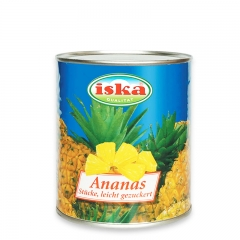 Ananas komadi - photo ambalaze