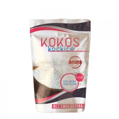Kokos kockice 100g - photo ambalaze