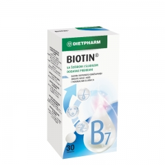 Biotin - photo ambalaze