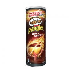 Čips Hot&Spicy 165g - photo ambalaze