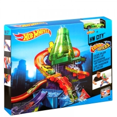 Hot Wheels set laboratorija - photo ambalaze