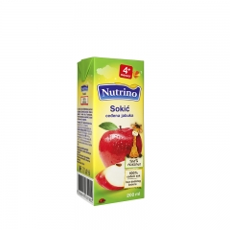 Sokić ceđena jabuka 200ml - photo ambalaze