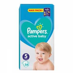 Pelene Active Baby Dry 5 11-16kg 54kom - photo ambalaze